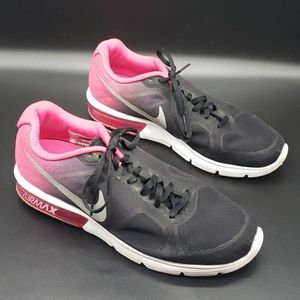 Nike Airmax Shoes pink and black